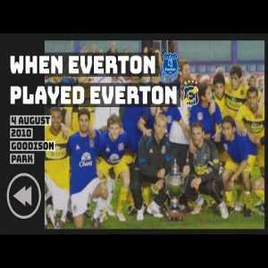 WHEN EVERTON PLAYED EVERTON!   REWIND: EVERTON DE VIÑA DEL MAR AT GOODISON
