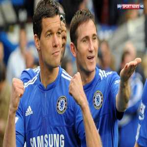 According to Sky Germany, Michael Ballack is in talks to join Lampard's coaching staff when he is appointed manager