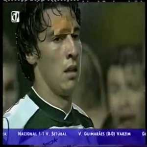 In 2002, Sporting CP were playing Boavista away. Game was tied, and Sporting's Coach decides to replace a wonderkid for... an even better wonderkid (min 4:24). 14 years later, those two would become european champions, and in the final, one was replaced for... the other.
