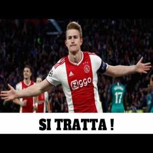 """[Romeo Agresti] This could really be the week of De Ligt to Juve, because Juve can't waste time """"which they aren't doing"""". Since last week they accelerated to sign him. The player wants Juventus. Paratici won't make a mistake & is determined to close the deal."""