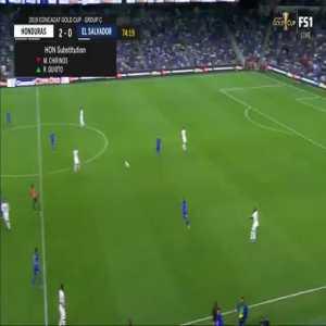 Honduras 3-0 El Salvador - Bryan Acosta goal