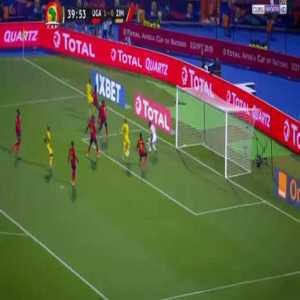 Khama Billiat Goal Uganda vs Zimbabwe 1 - (1) - Streamable