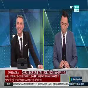 Ozan Kabak's agent met with Karl-Heinz Rummenigge and Hasan Salihamidžić. The Turkish defender is on his way to Bayern [TRT Spor]