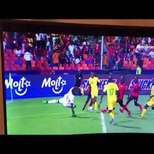 Zimbabwe's Knowledge Musona produces one of the all-time great misses