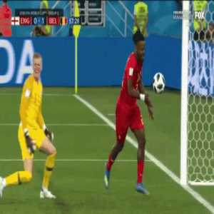 1 year ago today, Batshuayi hit himself in the face after Belgium's World Cup goal v.s England