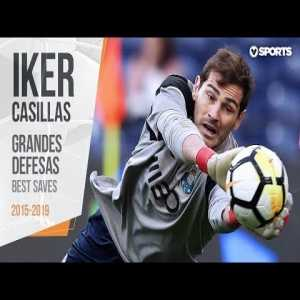 Best saves by Casillas while at Portuguese League 2015-2019