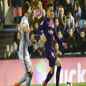 Denis Suarez is on the verge of joining Celta de Vigo for £13m.