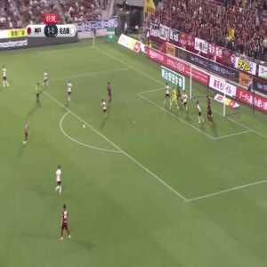 Andres Iniesta (Vissel Kobe) long shot goal vs Nagoya Grampus
