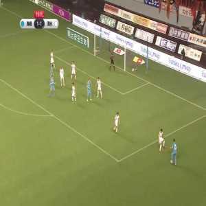 Fernando Torres (Sagan Tosu) 1st goal vs Shimizu S Pulse