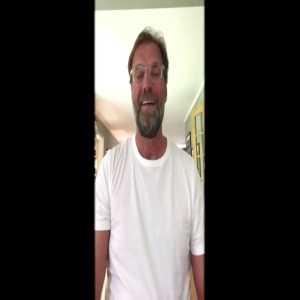 Klopp video message to U21 German National Team [German]