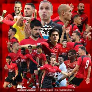Mirandés have been promoted to the Segunda Division