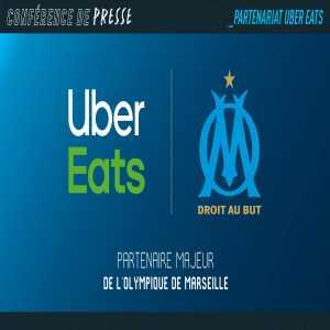 Olympique de Marseille announce Uber Eats as their primary sponsor