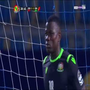 Sadio Mane penalty miss vs Kenya(AFCON)