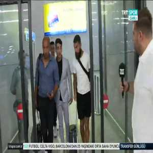 [TRT SPOR] Jimmy Durmaz has arrived in Istanbul.He will sign with Galatasaray.