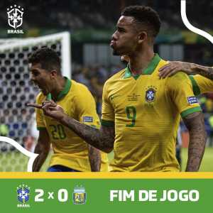 Brazil has won the Superclássico das Americas against Argentina and qualified to the 2019 Copa America final!