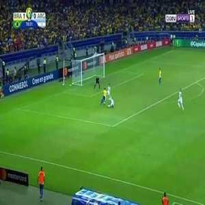 Firmino Goal - Brazil 2 vs 0 Argentina