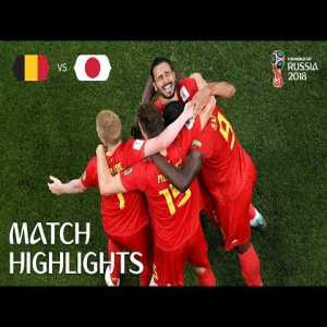 One year ago, Belgium came back from 0-2 against Japan in the World Cup round of 16