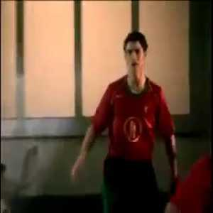 Cool old Nike commercial featuring Brasil and Portugal NTs