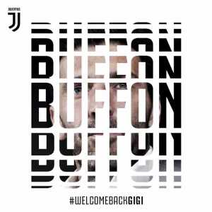 OFFICIAL| @gianluigibuffon is back in Bianconero! Welcome home, Gigi! https://t.co/He2dq1mZbn #WelcomeBackGigi #LiveAhead https://t.co/zIzTOMIvM6