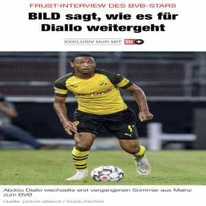 [Bild] Lyon interested in Dortmund's Abdou Diallo