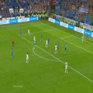 Zenit 2-[2] Lokomotiv Moscow - Aleksey Miranchuk 78'