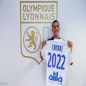 "Cherki: ""Very happy to sign my first professional contract with Lyon. It's the result of many years of work. Now the hard part begins. It will take a lot of work to progress"""