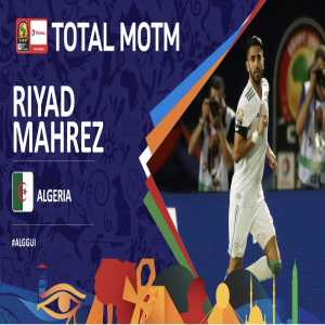 Riyad Mahrez has been selected as the Total AFCON Man of the Match. Well done!