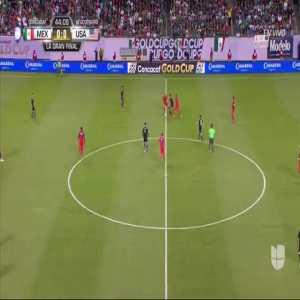 Rodolfo Pizarro arm injury vs. United States