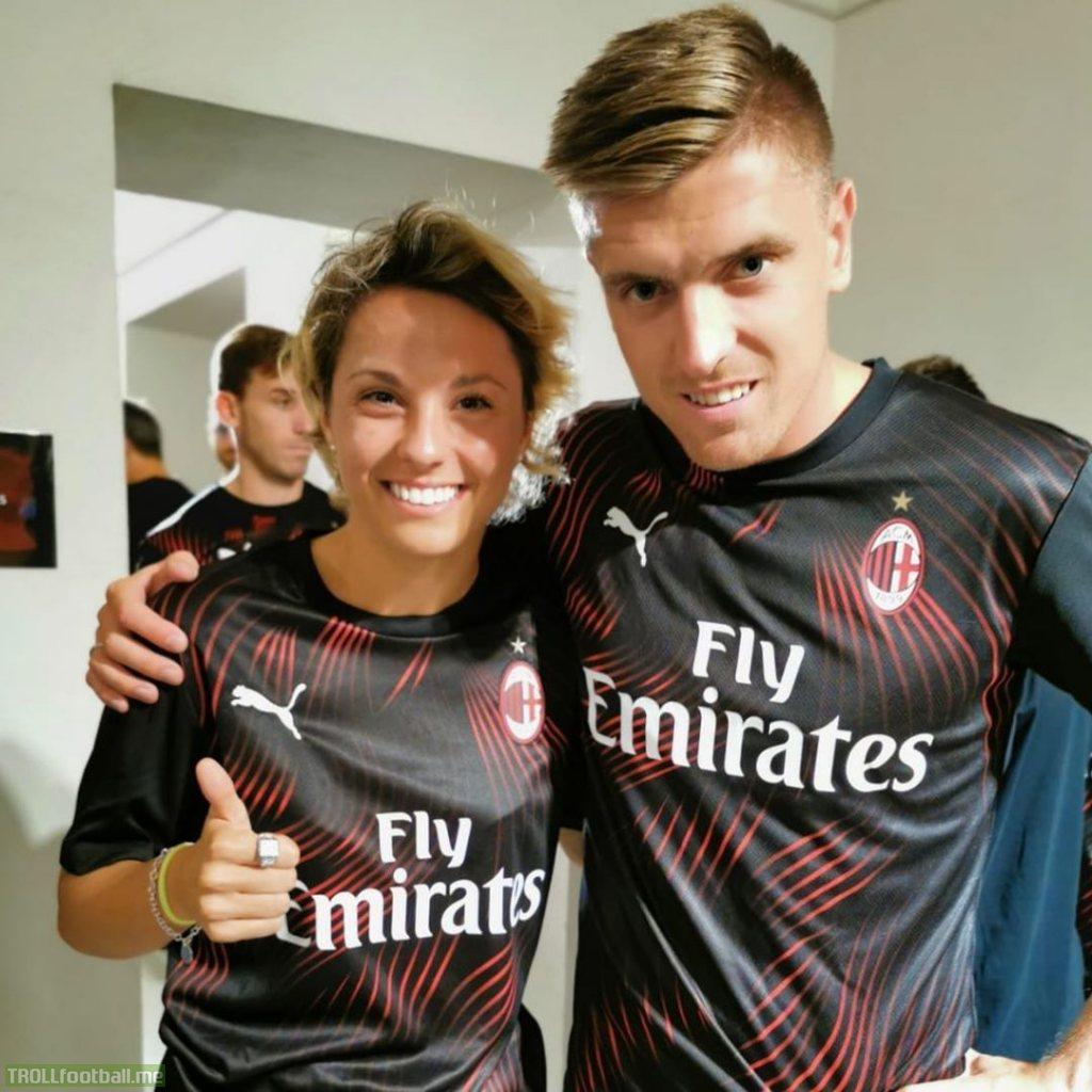 AC Milan's new third kit for the 2019/20 season.