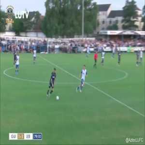 Guiseley AFC 1 - [1] Leeds United - Mateuz Bogusz. Great team goal, fantastic finish