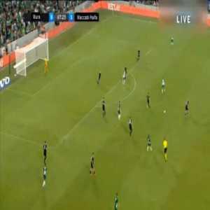 Maccabi Haifa 2-0 Mura - Muhamad Awad 68'