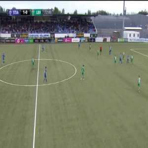 Stjarnan 2-0 Levadia - Thorsteinn Mar Ragnarsson 73'