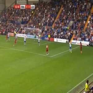 Tranmere 0-4 Liverpool - Curtis Jones 53'
