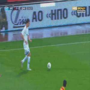 Arsenal Tula 0-1 Dinamo Moscow - Miguel Cardoso 16'
