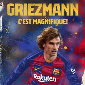 Barça announce the signing of Antoine Griezmann from Atletico Madrid