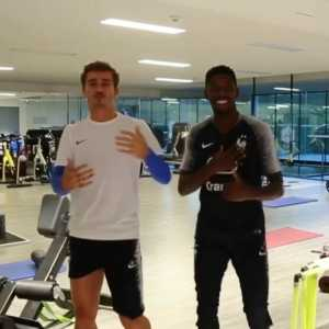Dembele and Griezmann have been reunited in Barcelona