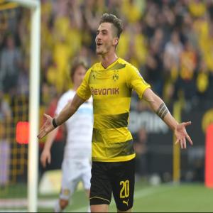 Dortmund's Philipp has just scored a 5-minute hat trick