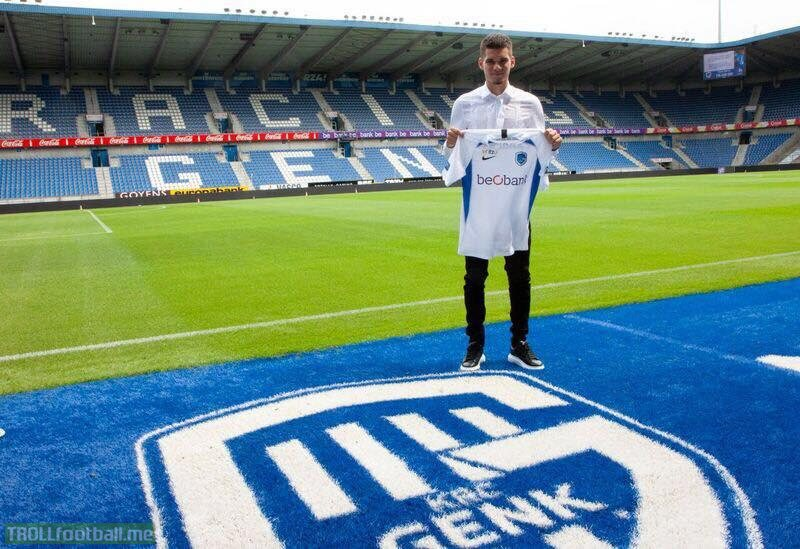 Ianis Hagi has officially signed his contract with Genk. 5 year contract