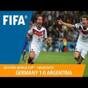 On this day (July 13th) in 2014, Germany won their 4th FIFA World Cup, defeating Lionel Messi's Argentina 1-0 at the Maracanã in Rio de Janeiro - German substitute Mario Götze scored a brilliant 113' extra time winner to seal it after Gonzalo Higuain's 29' 'opener' was ruled out for offside