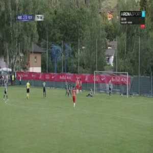 RB Salzburg 3-0 Feyenoord - Patson Daka 80'