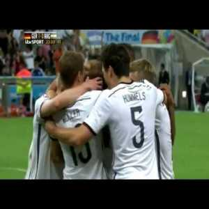 5 years ago today: Germany beats Argentina 1-0 AET to secure their fourth World Cup
