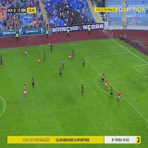 Académica de Coimbra 0 - [2] Benfica - 24' - Raúl de Tomas (friendly match)