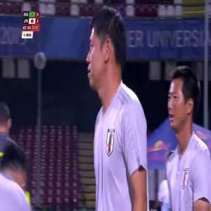 Brazil 0-[2] Japan - Ayase Ueda 64' [Universiade, final]