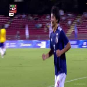 Brazil 1-[4] Japan - Ayase Ueda 81' hattrick [Universiade, final]