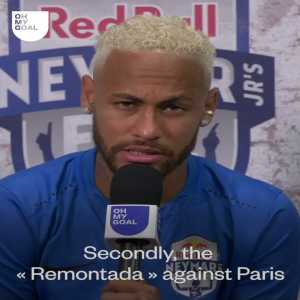 [El Chringuito] Neymar: My best memory in a football dressing room? When we won against PSG playing for Barcelona.
