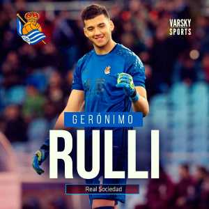 Geronimo Rulli reported to move to Porto for a transfer fee of around €10M