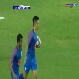 India [2]-4 North Korea - Sunil Chhetri 71'