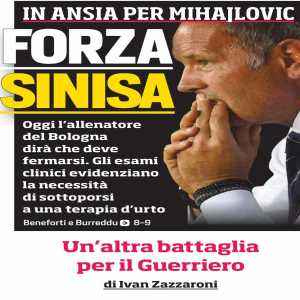 Mihajlovic in the press conference: 'I wanted to be the first one who told you what happened, but someone didn't respect my privacy to sell 200 copies more of their newspaper and ruined a 20 year friendship'