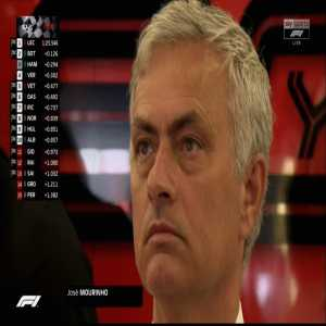 Mourinho at the Silverstone F1 GP, because why not