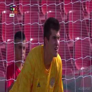 Russia 0-[1] Italy - Loris Zonta 13' penalty [Universiade, 3rd place match]